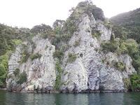 Naturschönheiten vom Boot aus