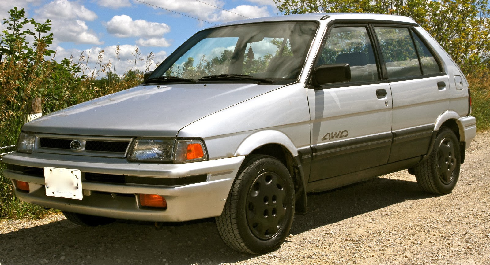 A 1995 subaru justy until today i thought subaru stopped selling the justy in north america 1994