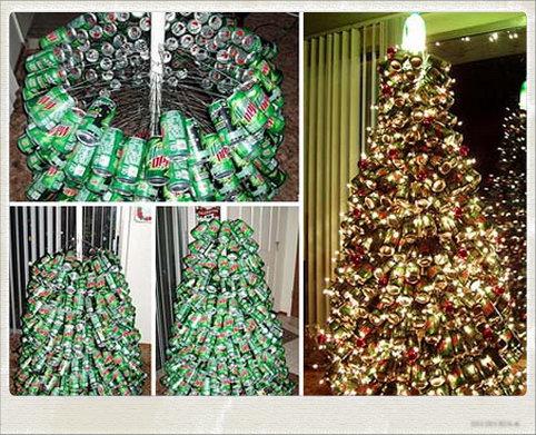 Muestra tu liebling rboles de navidad baratos bonitos for Arbol de navidad con cajas de carton