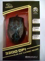 Mouse Gaming Legend 3200Dpi