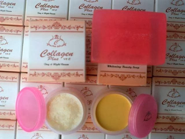 set collagen plus vit e RM20
