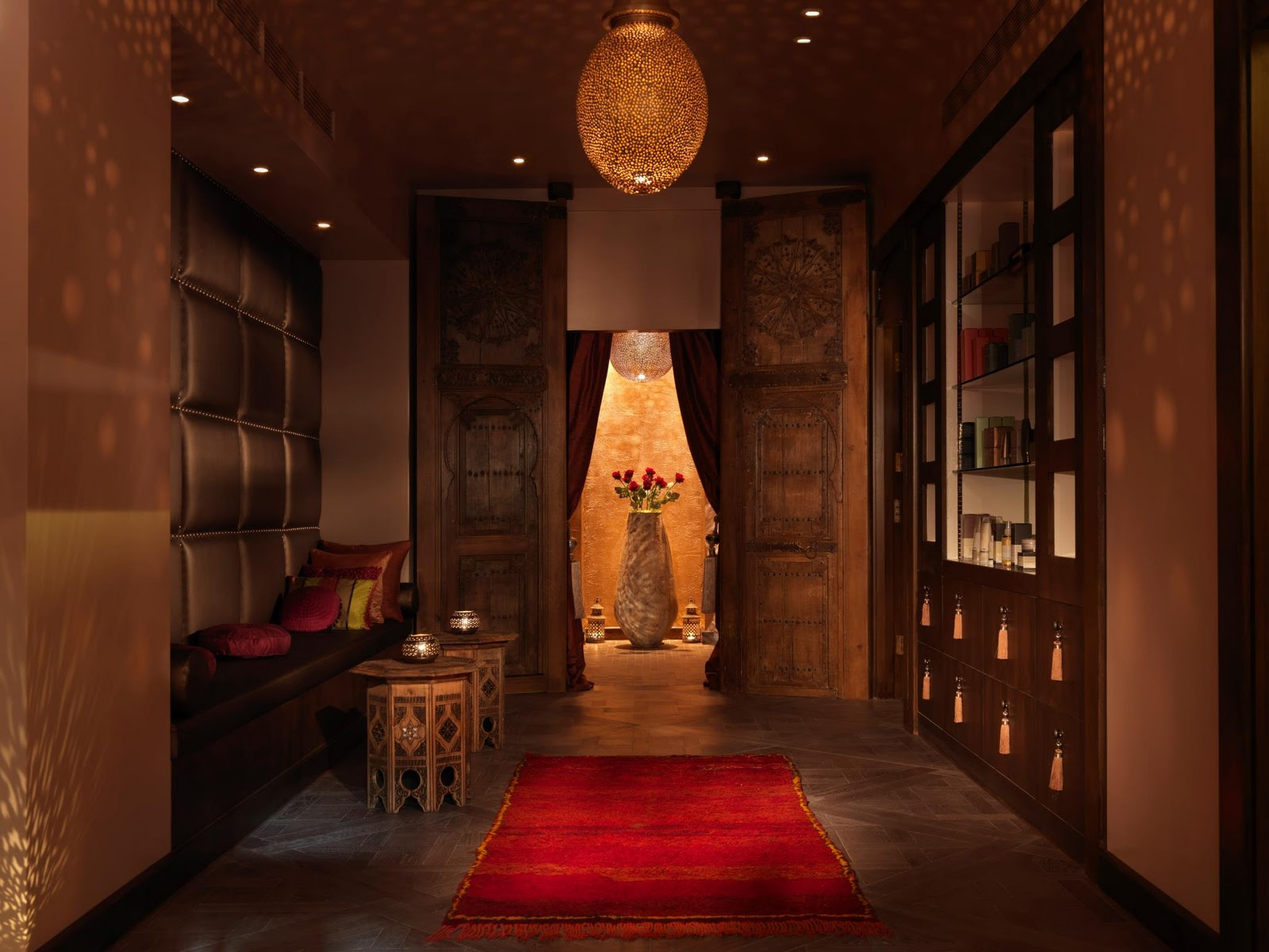 the style examiner the spa in dolphin square a touch of moroccan luxury in central