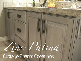 zinc patina tutorial