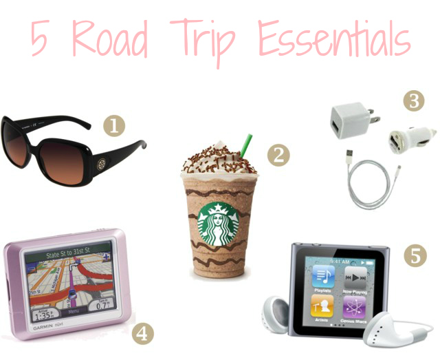 road trip essentials