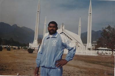 Ch Muhammad Mansha Gujjar visiting Faisal Masjid Islamabad
