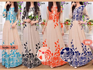 Renata Maxi Dress Bunga