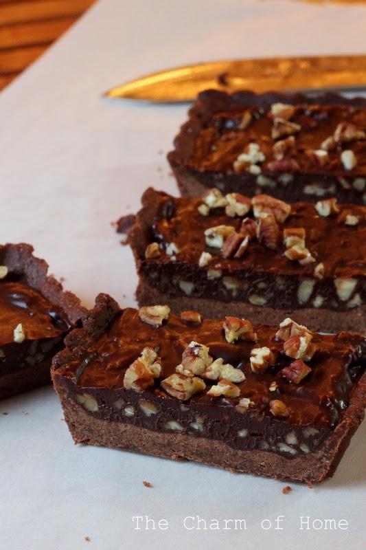 Chocolate Pecan Tart: The Charm of Home