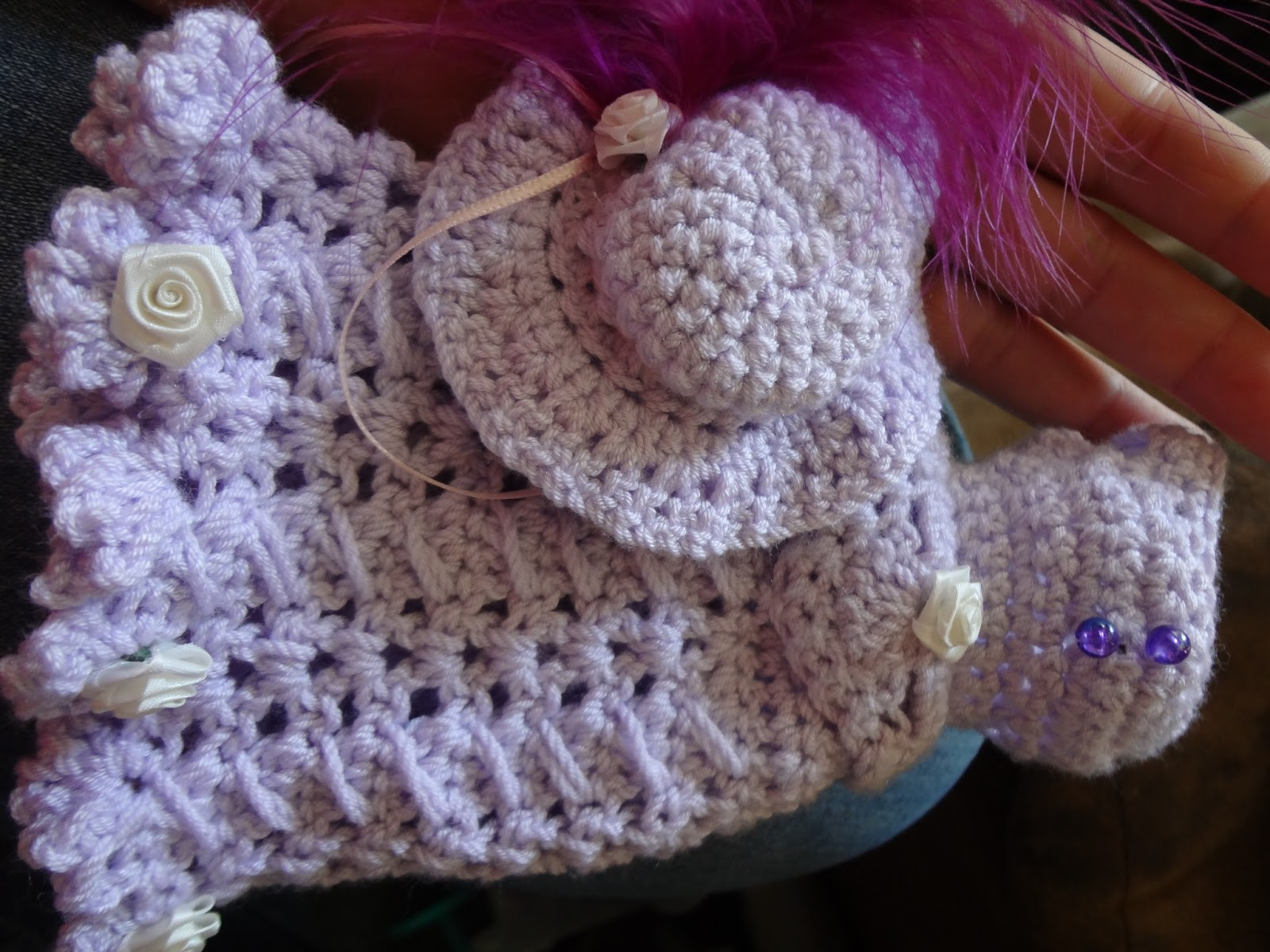 Free Crochet Patterns For Barbie Hats : Niftynnifers Crochet & Crafts: July 2013