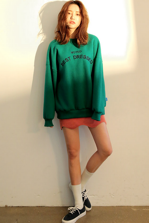 Best Dressed Loose Sweatshirt