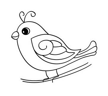 Cute baby duck coloring page for Baby duck coloring pages