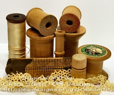 Vintage Spools & Tatting