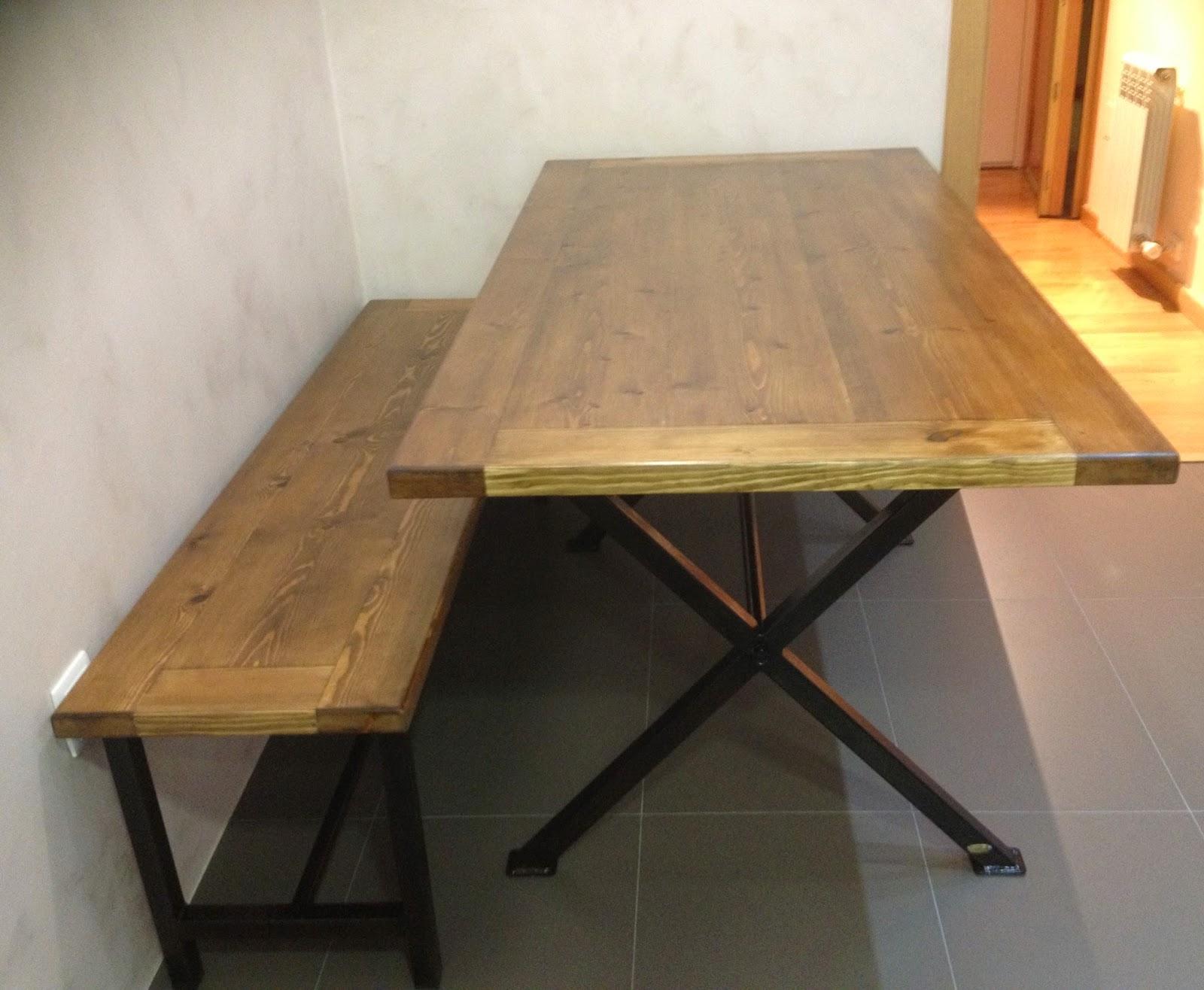 Tocaferro by jl padial exclusividad en nuestras mesas y - Mesa con bancos ...