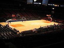 Madison Square Garden court
