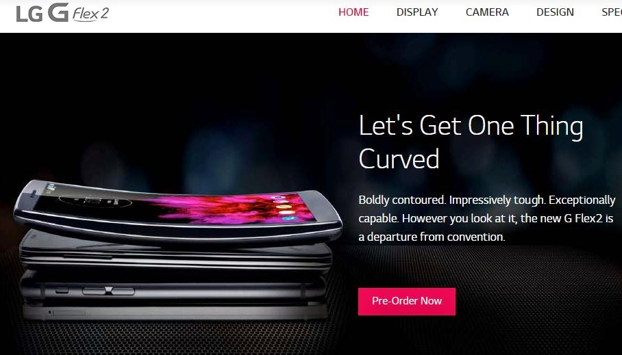 LG's G Flex 2 will be available from Sprint on March 13th
