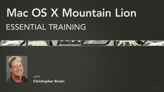 Lynda – Mac OS X Mountain Lion Essential Training