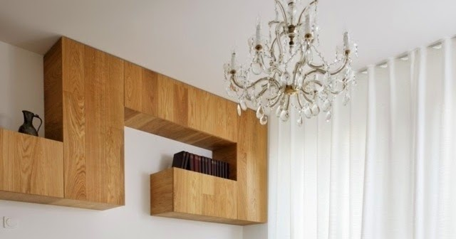 Functional Wall Mounted Shelving Systems For Small Apartment