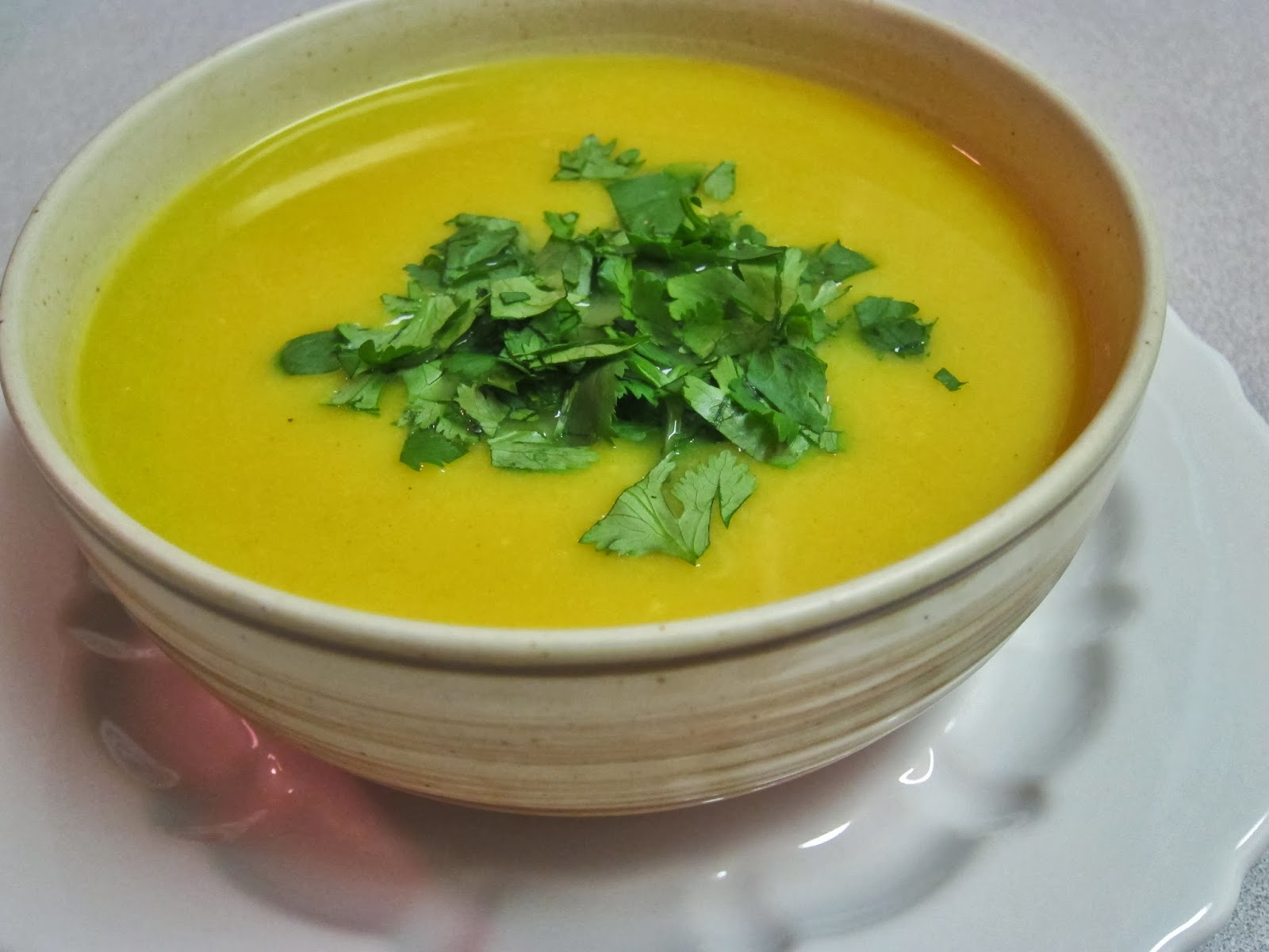 The Vegan Chronicle: Curried Butternut Squash Soup
