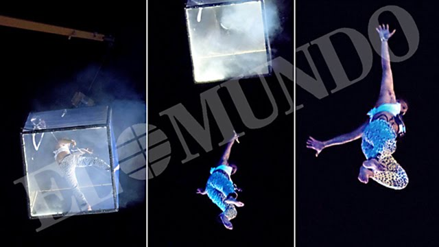 ¿El accidente del acróbata Pedro Aunión Monroy ha sido un sacrificio a Saturno?