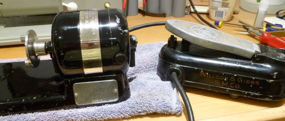 Tempted Threads Rewire Willcox And Gibbs Motor Part 2
