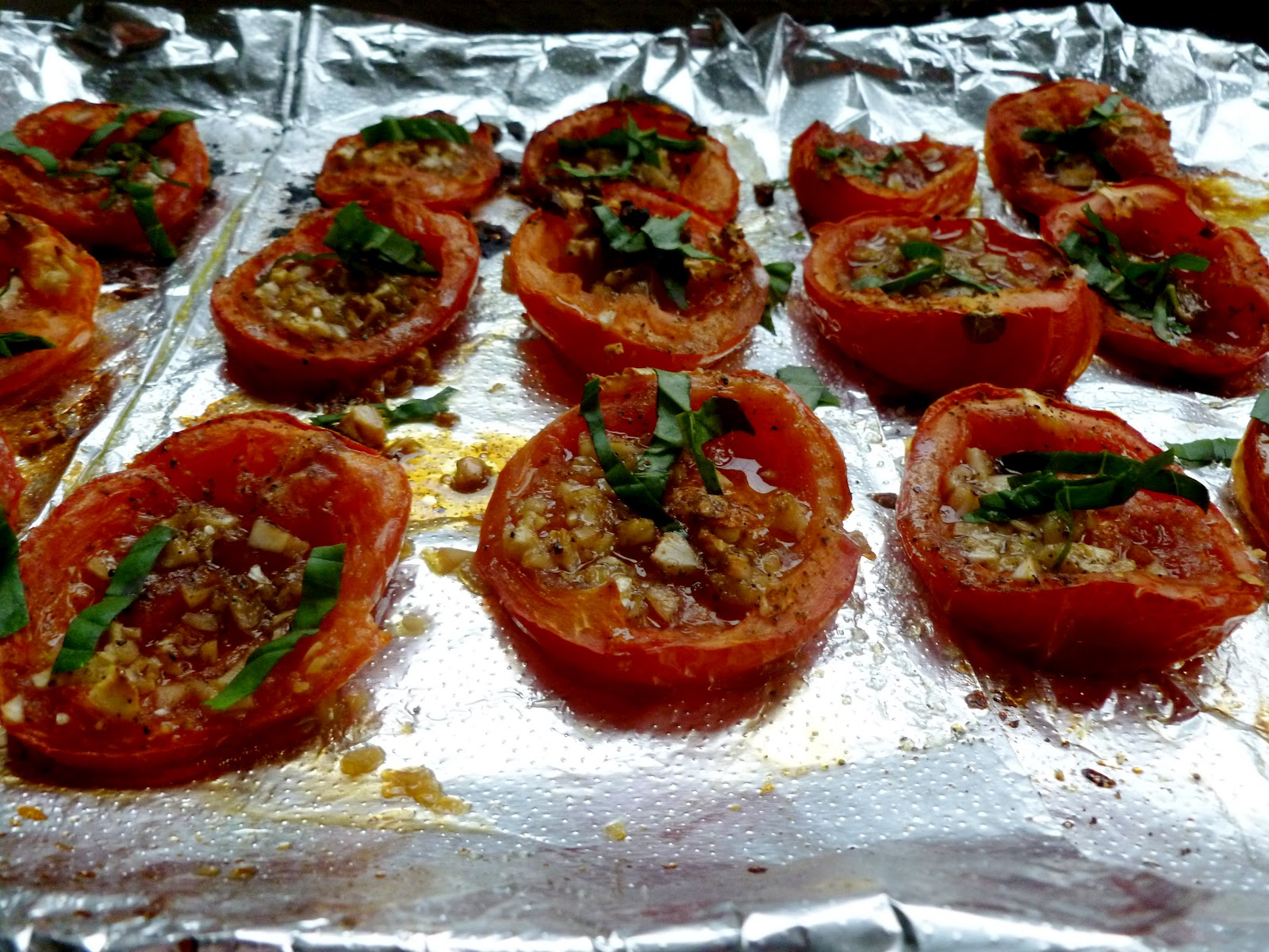 Roasted Tomatoes Ina Garten wandering voyager: cooking with the barefoot contessa: perfect