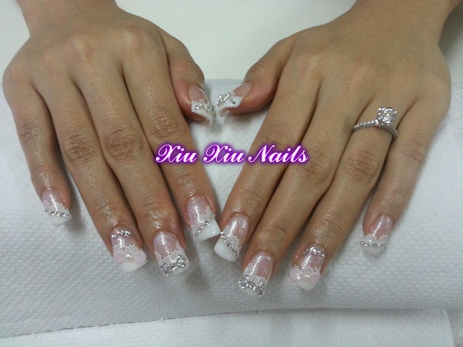 Xiu Xiu Nails Bridal Nails Sweet Wild Nails