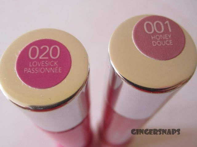 Revlon lip stains review and swatches