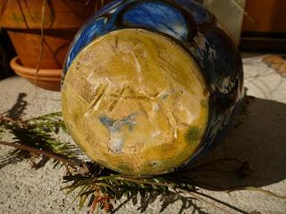 Kähler Vase and Tradescantia fluminensis