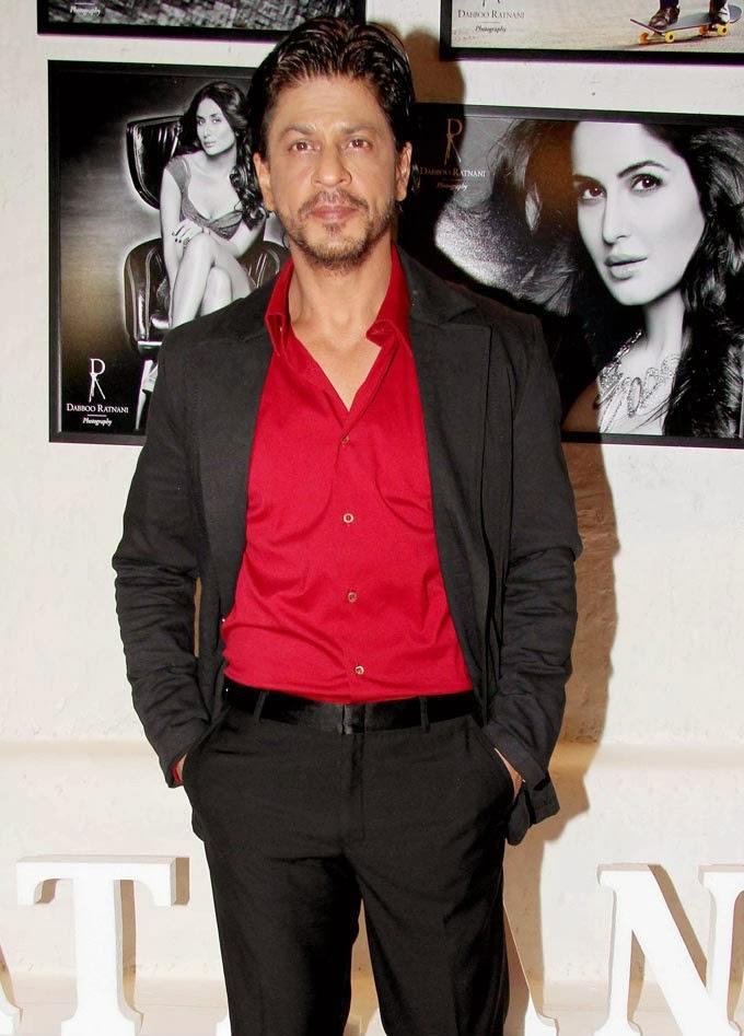 Shahrukh Khan at Dabboo Ratnani 2014 calendar launch