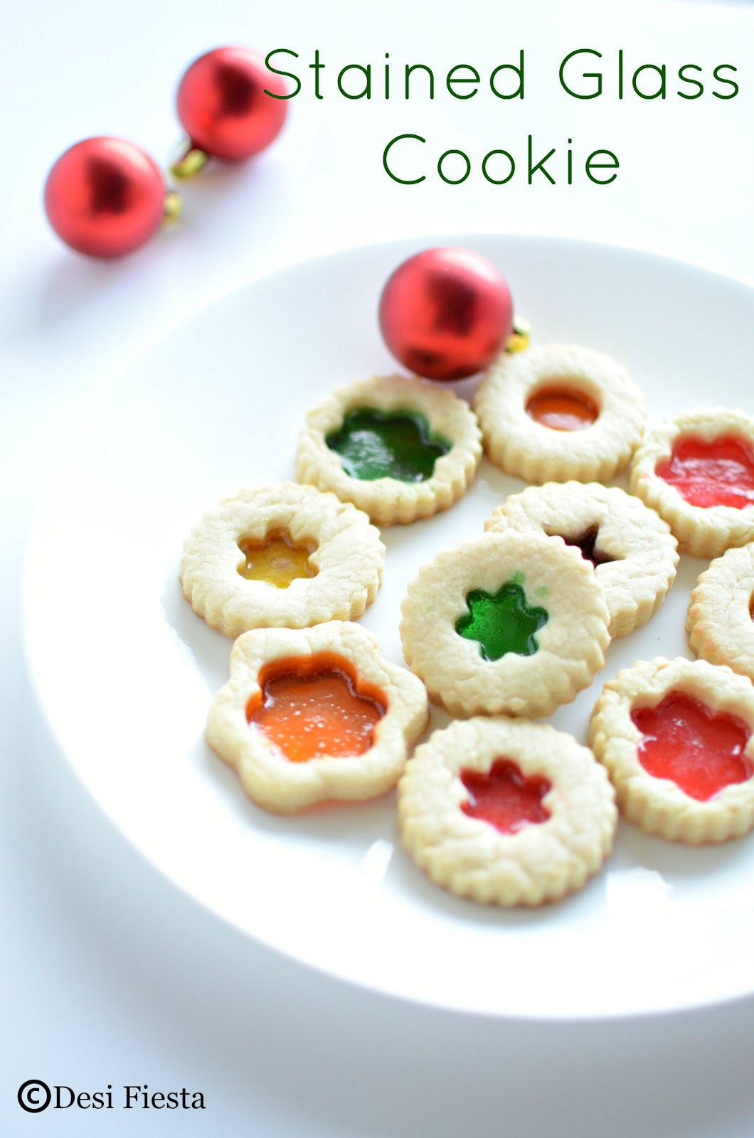Desi Fiesta : Stained Glass Cookie   Stained Glasses Cookies Recipe