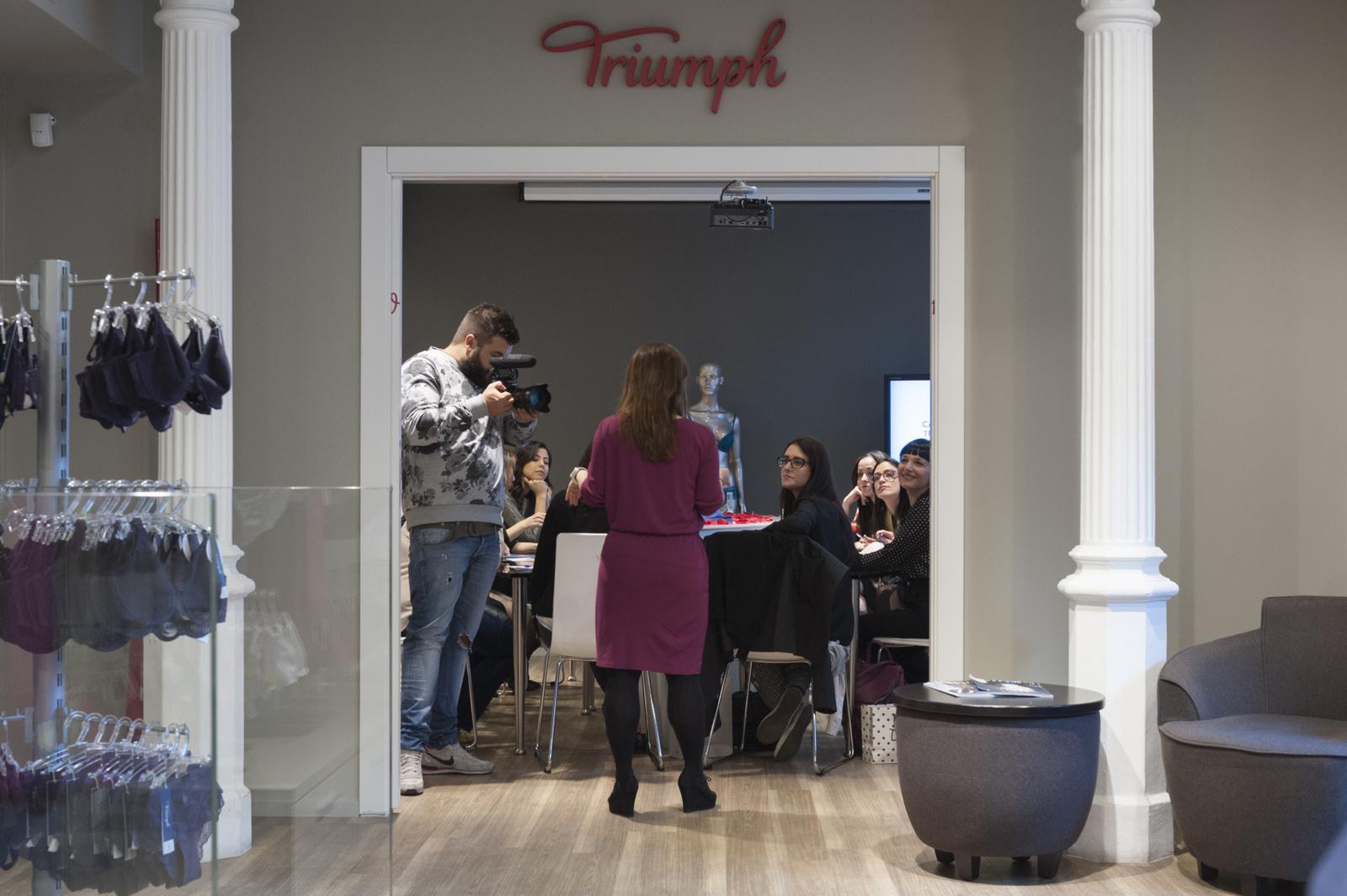 Magic Wire, Magic Wire Experience, Life Coaching , Triumph, Triumph Lingerie studio