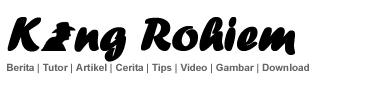 Blog Kang Rohiem