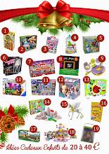 Idées cadeaux pour les enfants (de 20 à 40 €) + CONCOURS DE NOËL !