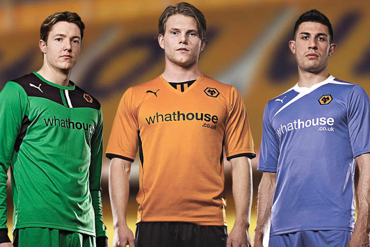 Puma Wolves 13 14 Home   Away Kits Released