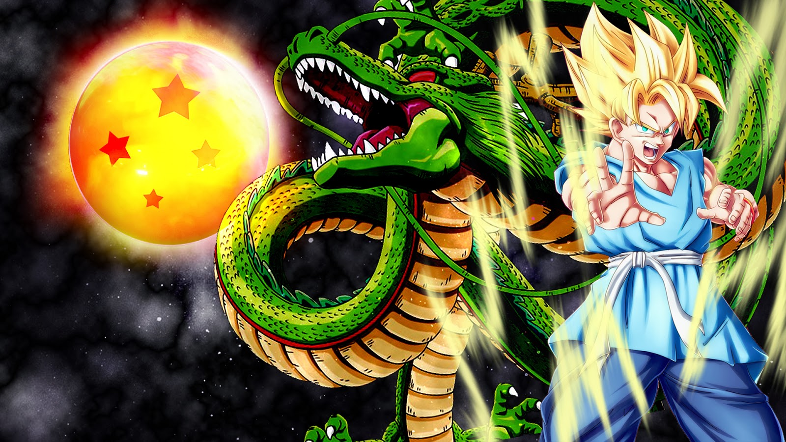 Download Dragon Ball Songoku Full Hd Wallpapers 3d Hd
