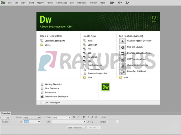 dreamweaver cs6 free download full version with crack for mac