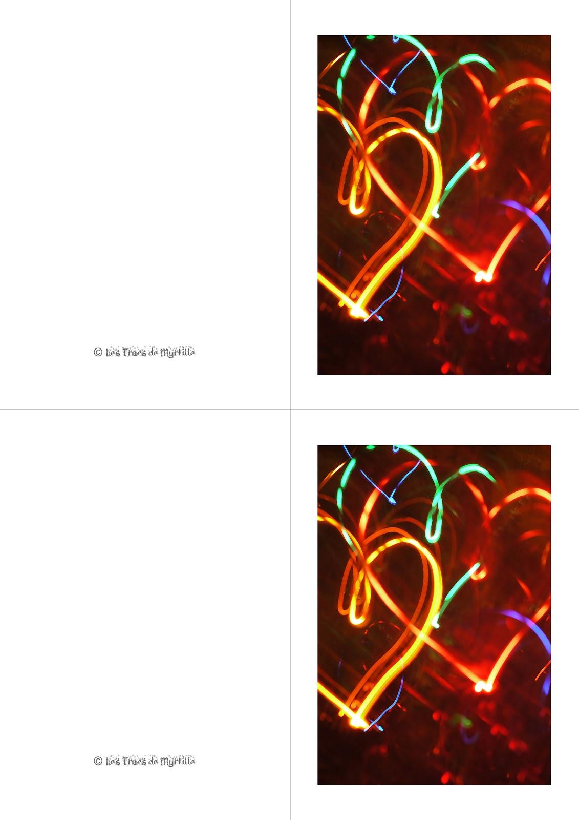 Les trucs de myrtille cartes de voeux imprimer 2 diy Imprimer carte de voeux