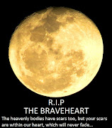 Took this picture of the moon, the morning The Brave Heart died.