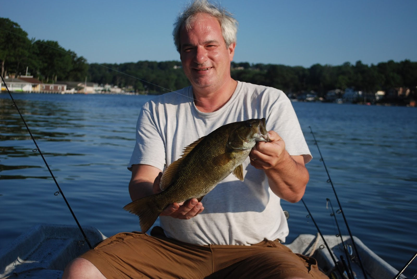 Litton 39 s fishing lines lake hopatcong smallmouth bass and for Best fishing line for walleye