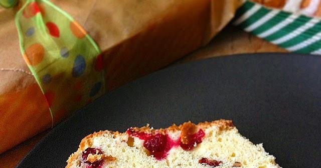 Holiday Cakes: Cranberry Orange Loaves w/ Pecans
