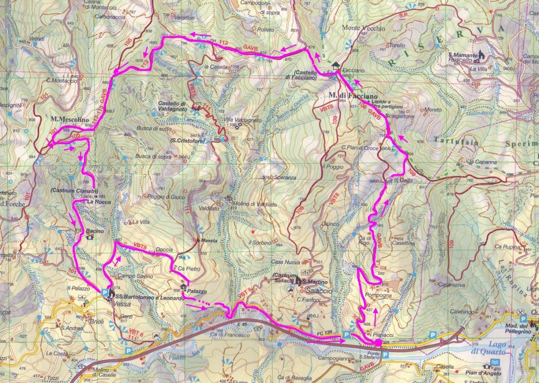 Escursionismo a 360°: Monti Facciano e Mescolino (E-EE)