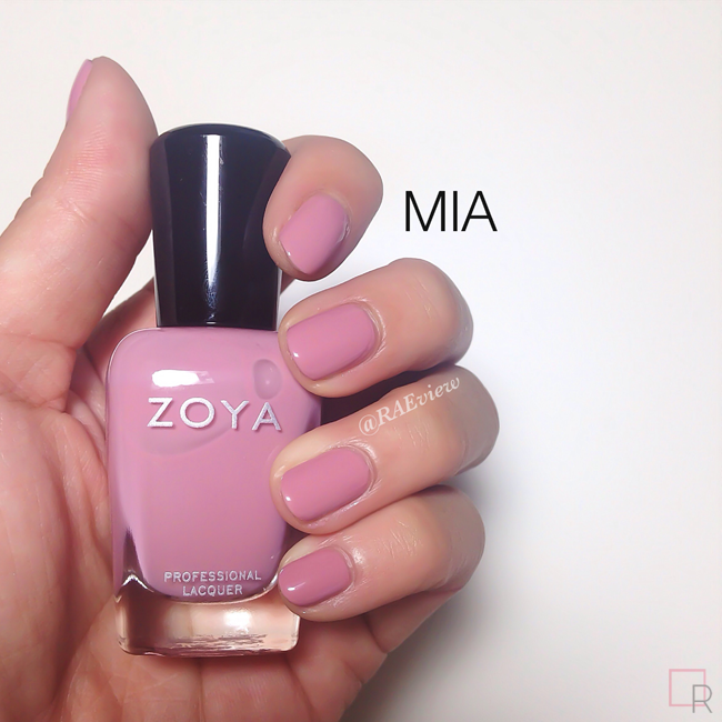 I Have Worn It For Several Days With Barely A Sign Of Tip Wear No Wonder Zoya Released Mia In Their Classics Collection