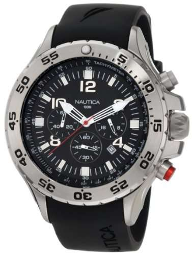 Nautica Men's N14536 NST Chronograph Watch