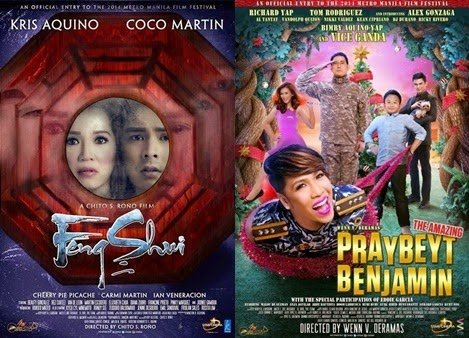 MMFF 2014 Box office update: 'Praybeyt Benjamin', 'Feng Shui' set record