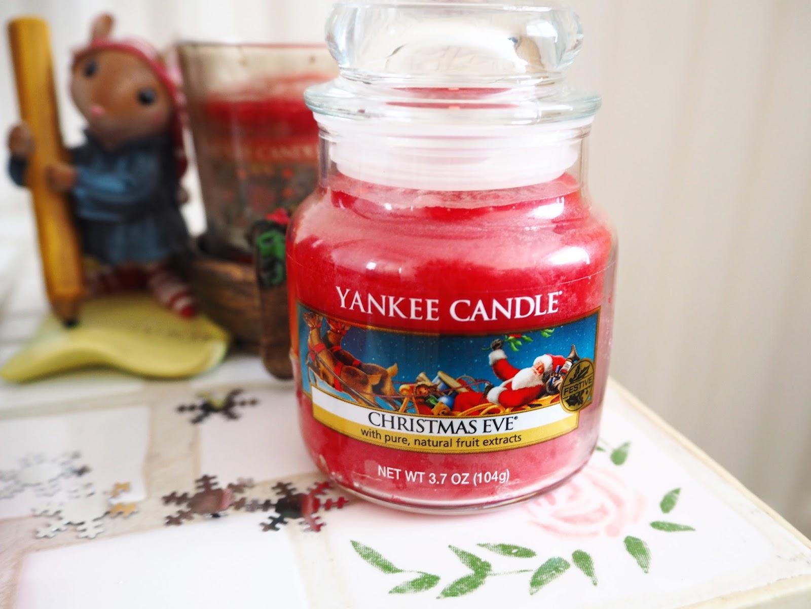 Christmas Yankee Candles | Katie Kirk Loves