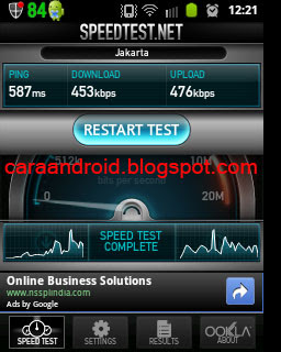 caranya memasang static ip wifi di galaxy mini