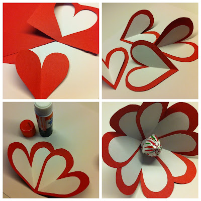 Happy valentine's day kids crafts