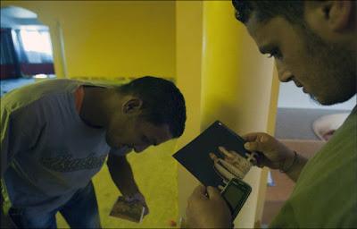 Libyan Rebels Inside Muammar Gaddafi House Seen On www.coolpicturegallery.us