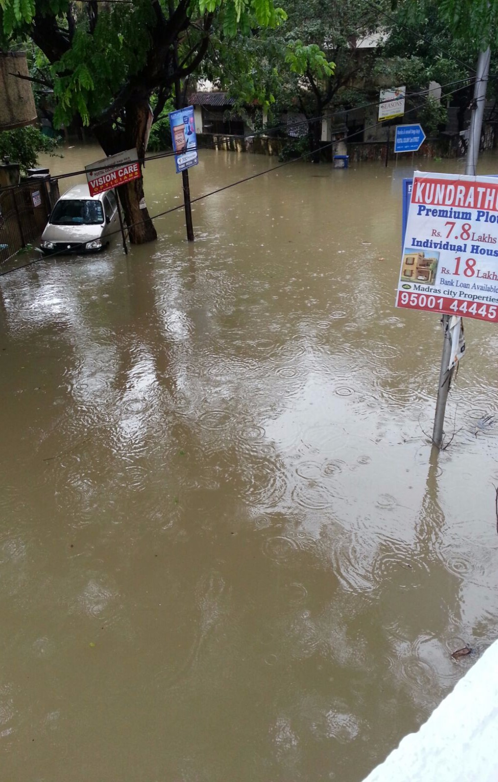 sandhya s blog chennai floods when essay topics became reality car parked on a pavement