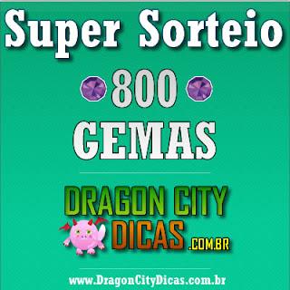 Super Sorteio - Concorra à 800 Gemas - Julho