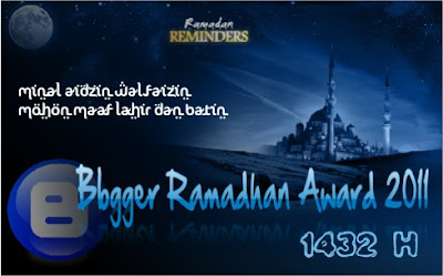 Ramadhan Blogger Award